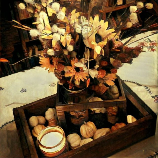 prisma of my homedecor summers end harvest centerpiece thanks tohellip